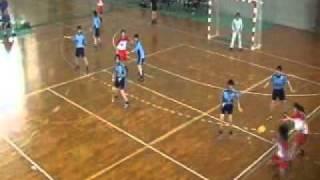九州学生リーグ春季大会ハンドボール女子・福岡大学vs福岡教育大学