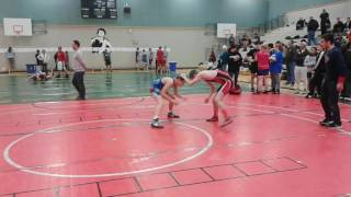 Ryan Hicks Wrestling at Terry fox Secondary