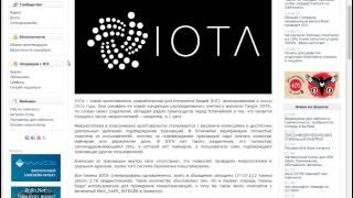 Что такое IOTA? В чем особенности IOTA? Какой прогноз на IOTA?