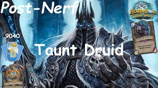 Hearthstone: Master Oakheart Taunt Druid Post-Nerf #4: Witchwood (Bosque das Bruxas) - Standard