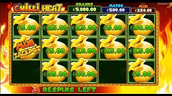 BIG WINS! - Bonus Games - Chilli Heat Slots