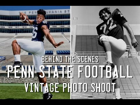 'The Ol' Huck 'n' Buck': Behind the scenes of PennLive's Penn State football photo shoot
