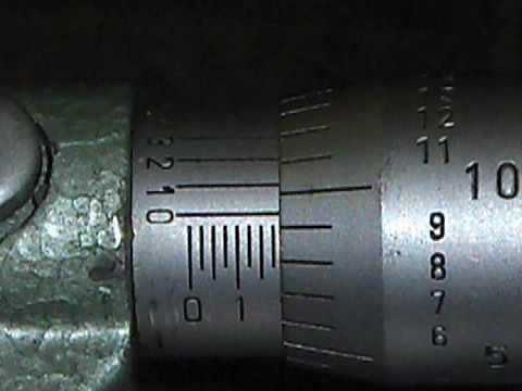 Reading a Standard Micrometer.mp4
