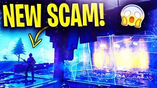 *NEW SCAM* The Jump Through Walls SCAM BEAWARE! Scammer Gets EXPOSED! In Fortnite Save The World