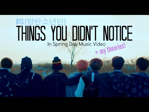Thumbnail: BTS ~ Things You Didn't Notice In Spring Day Music Video ( + My Theories! )
