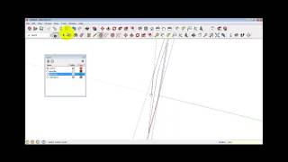 การเขียนคานคอนกรีตเสริมเหล็กพร้อมหาปริมาณโดยใช้โปรแกรม Google Sketchup ร่วมกับ Microsoft Excel