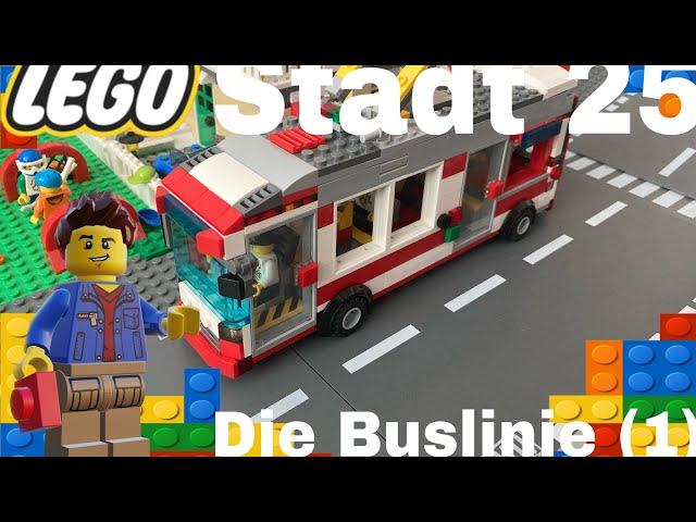 Lego Stadt Update 25/ Die Buslinie 1