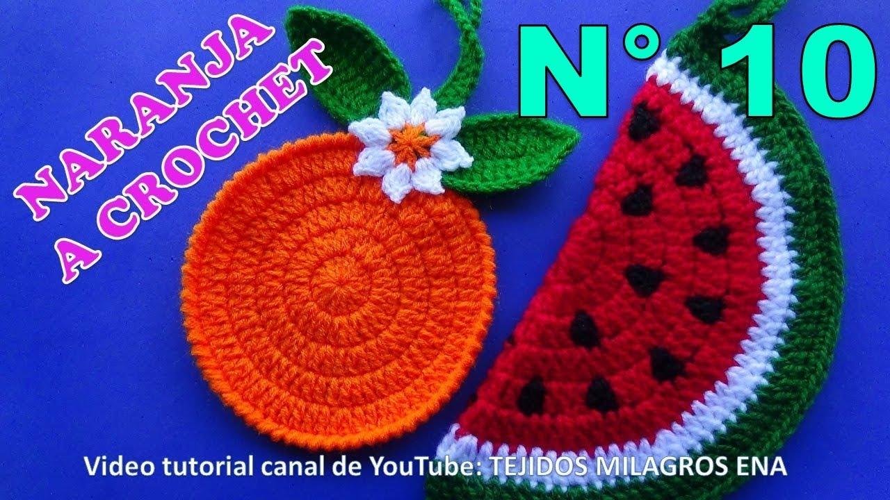 Manualidades a crochet para vender naranjas tejidas para - Manualidades de ganchillo para navidad ...