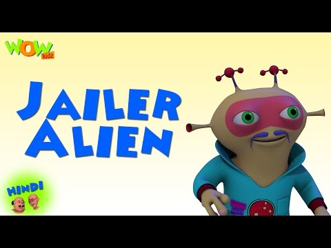 Jailer Alien - Motu Patlu in Hindi - ENGLISH, SPANISH & FRENCH SUBTITLES! - 3D Animation Cartoon thumbnail