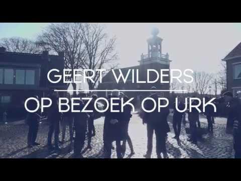 Geert Wilders op bezoek op Urk