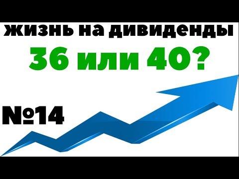 ЖИЗНЬ НА ДИВИДЕНДЫ №14: Как добиться финансовой независимости за 4 года? Как жить на пассивный доход