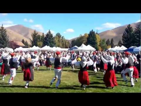 Basque Dancers In Idaho
