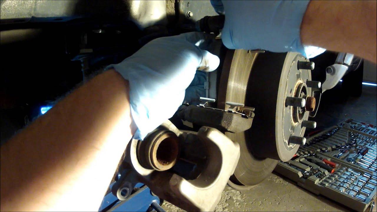 Rear Brake Pad Replacement Toyota RAV4  YouTube