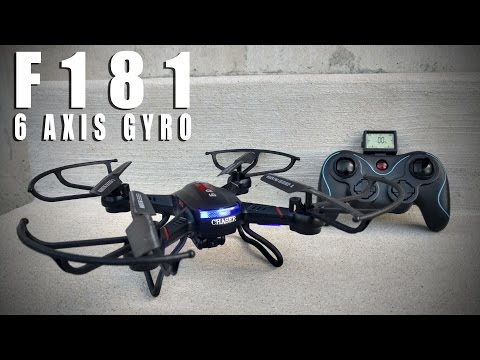 Holy Stone F181 RC Quadcopter Drone with 720p Camera