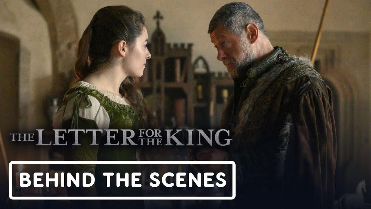 La carta de Netflix para el rey - Andy Serkis oficial detrás de escena + vídeo