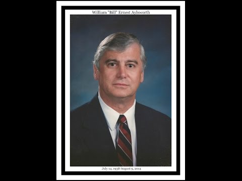 """William """"Bill"""" Ernest Aylsworth: July 14, 1938 to August 9, 2014"""