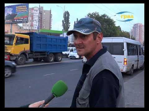 Телекомпания Град: ДТП в Одессе. У КАМАЗа отказали тормоза
