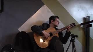�������� ���� А зори здесь тихие - на гитаре соло ������