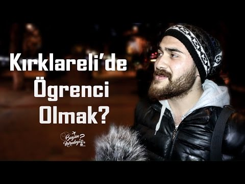 Kırklareli'de Öğrenci Olmak | Kırklareli Sokak Röportajı #6