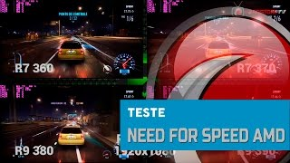 TESTE - Need for Speed em placas AMD Radeon
