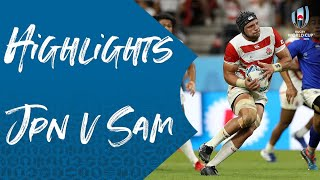 Highlights: Japan 38-19 Samoa - Rugby World Cup 2019