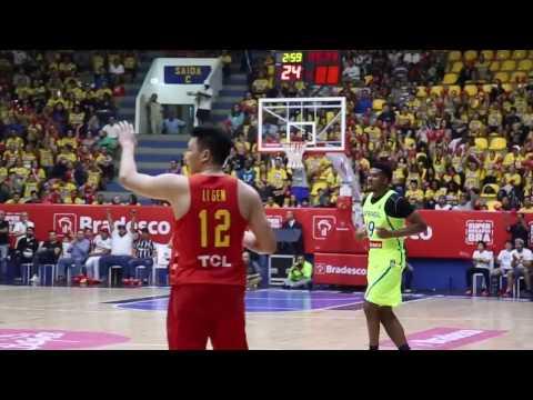 Brasil vence China em amistoso preparatório