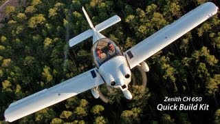 The Quick-Build Kit now available for the Zenith CH 650 cruiser light sport kit aircraft