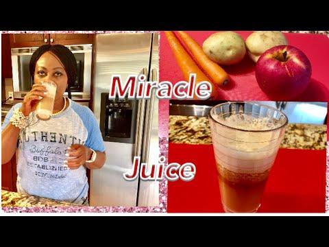 Potato the miracle juice