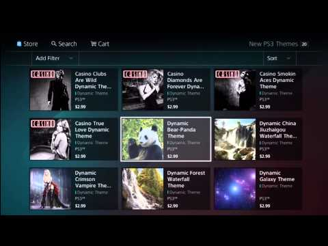 Best Dynamic Themes on the PS3 | Doovi