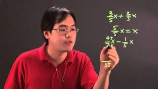 How to Do Fractional Coefficients