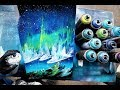 Northern Lights - SPRAY PAINT ART by Skech