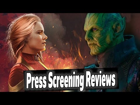 Captain Marvel Press Screening Reactions & 'Reviews' Explained