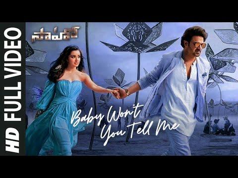 saaho-telugu-baby-won-t-you-tell-me-full-video-song-prabhas-shraddha-k-shweta-m