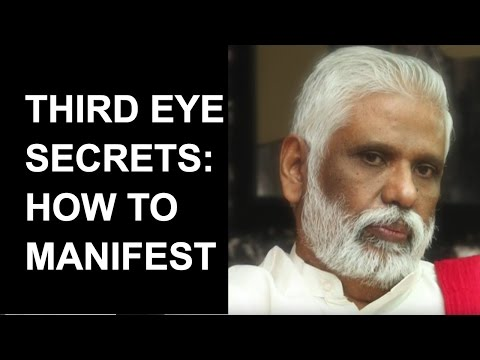 Dr. Pillai Explains The Secret Of Manifestation:  Ah Meditation