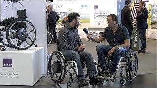 Neuer Rollstuhl Zusatzantrieb m 25 Alber
