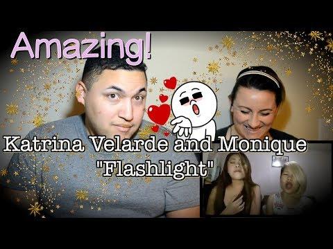 Flashlight Cover by Katrina Velarde and Monique |COUPLES REACTION