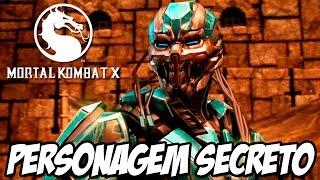 Mortal Kombat X - Como jogar com Cyber Sub Zero PERSONAGEM SECRETO