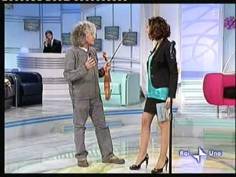 Angelo Branduardi / rai uno 1/ 27.03.09