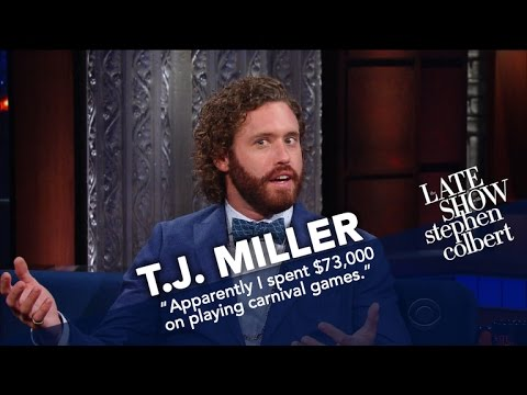 TJ Miller Reads A Negative  Of His New Standup Special