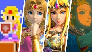 Evolution of Princess Zelda Costumes (1986 - 2019)
