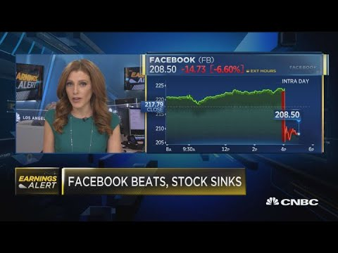 Facebook Down After Earnings