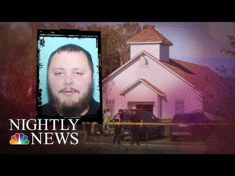 Texas Gunman Devin Kelley Escaped From Mental Health Facility In 2012   NBC Nightly News