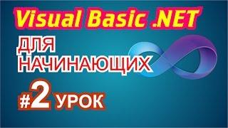 Visual Basic 2010 для начинающих 2й урок