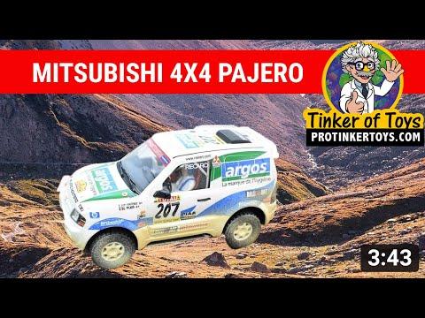 "UNBOXING | Mitsubishi Pajero ""Argos"" Desert Dirt 50323 | Ninco"