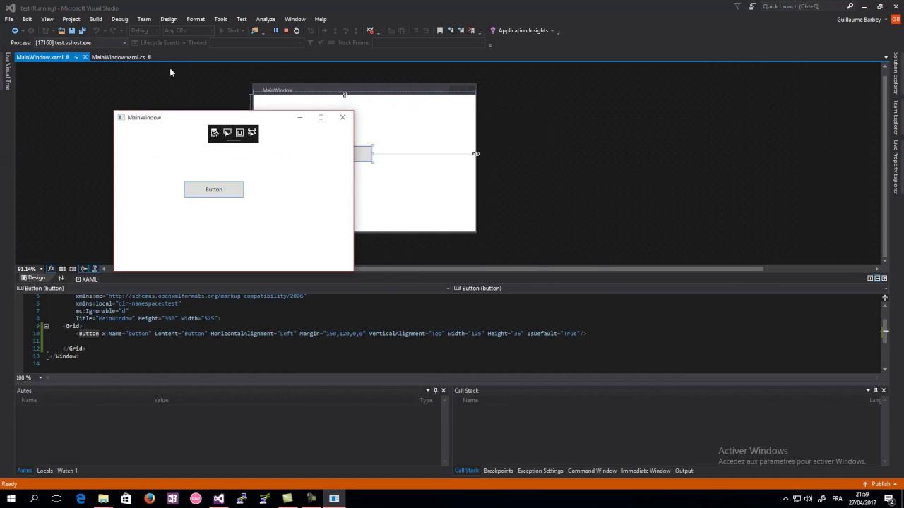 [FR] Introduction à la chaîne + Introduction à Visual Studio 2015