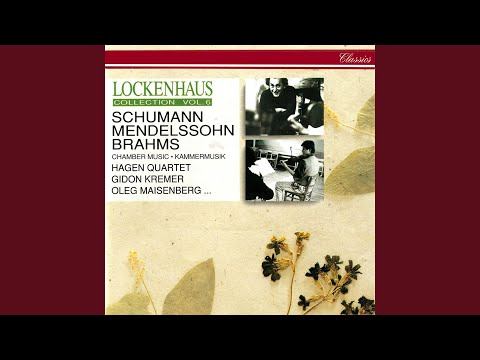 Brahms: Piano Quintet in F Minor, Op. 34 - 3. Scherzo (Allegro)