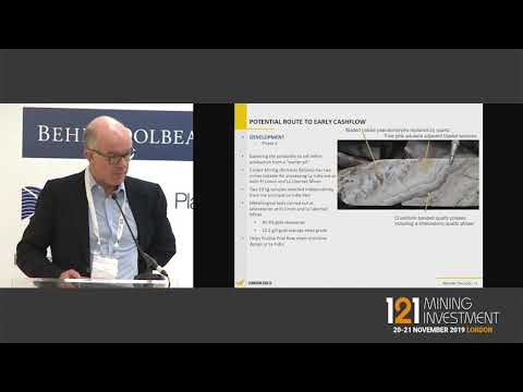Presentation: Condor Gold - 121 Mining Investment London Autumn 2019