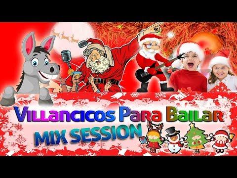 Villancicos Para Bailar, Navidad 2019, Mix Navideño Burrito Sabanero, Musica Navideñas