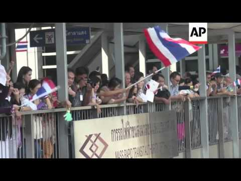 Thailand's anti-government protesters return to Bangkok streets