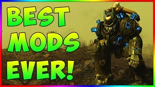 Fallout 4 - BEST Mods In Fallout 4 History! - Best Mods of All Time! (PS4, Xbox One, PC)